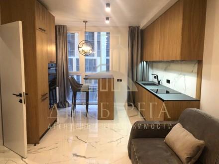 Предлагается к продаже стильная 1-комнатная квартира в ЖК Малахит по ул. Богдано. Киев, Киевская область. фото 2