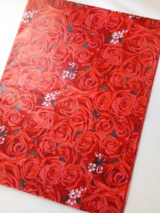 Предлагаю Вашему вниманию декорированную бумагу тишью.  Бумага продается в лис. Киев, Киевская область. фото 6