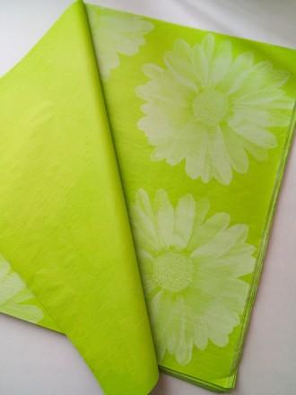 Предлагаю Вашему вниманию декорированную бумагу тишью.  Бумага продается в лис. Киев, Киевская область. фото 7