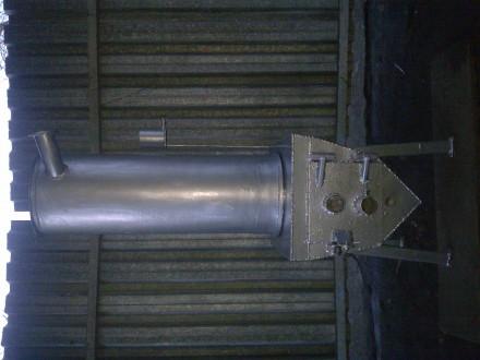 печь из обечайки ф 600мм х10 мм футерована кирпичем, парообразователь и подача п. Сумы, Сумская область. фото 7