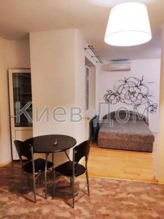 Сдается однокомнатная квартира-студио возле метро Академгородок. Квартира находи. Академгородок, Киев, Киевская область. фото 5