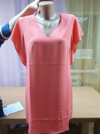 bc6677b7b8877b Короткое стильное коктельное прямое платье креп-шифон (англия) ASOS