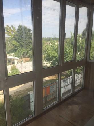 Отличный двухэтажный дом, утеплён.В доме 4 комнаты, балкон,лоджия. Два санузла, . Чернигов, Черниговская область. фото 2