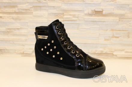 7d5658b8 ᐈ Ботинки женские черные Д517 р 38 38 ᐈ Запорожье 315 ГРН - OBYAVA ...