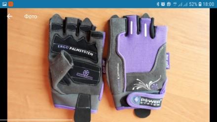 Перчатки для спорта/фитнеса. Киев. фото 1