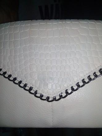Материал экологическая кожа Продается со скидкой, есть маленькое пятнышко, см фо. Запорожье, Запорожская область. фото 3