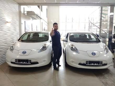 Nissan Leaf 2015 S+ USA Нисан Лиф 2015 США. Киев. фото 1