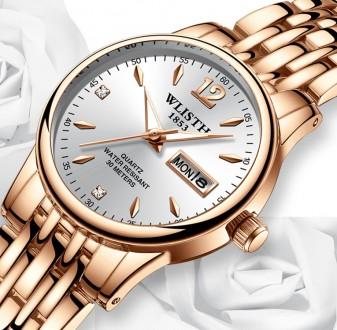 Женские часы, покрытые розовым золотом код 467. Запорожье. фото 1