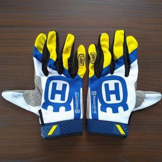 Перчатки 100% iTrack Husqvarna, L, XL. Ивано-Франковск. фото 1