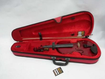 Отличный футляр для скрипки ½, ¾ или 4/4 ( длинна от начала отсека для грифа до . Чернигов, Черниговская область. фото 8