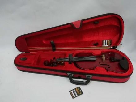 Отличный футляр для скрипки ½, ¾ или 4/4 ( длинна от начала отсека для грифа до . Чернигов, Черниговская область. фото 7