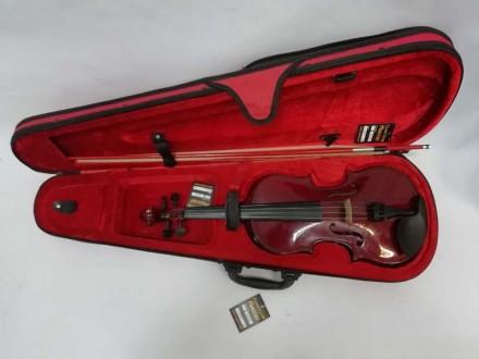 Отличный футляр для скрипки ½, ¾ или 4/4 ( длинна от начала отсека для грифа до . Чернигов, Черниговская область. фото 6