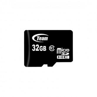 Карта памяти microSDHC 32Gb Team (Class 10). Полтава. фото 1