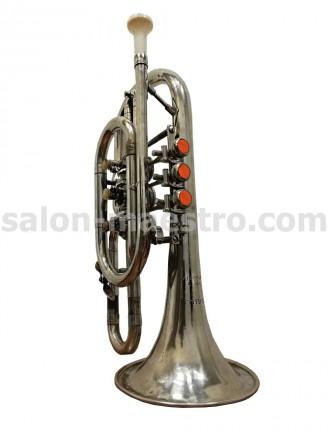 (01\0759) Отличный Корнет (труба) в хорошем состоянии с футляром. Чернигов. фото 1