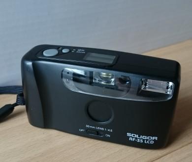 Фотоаппарат пленочный Soligor AF-35 LCD.. Краматорск. фото 1