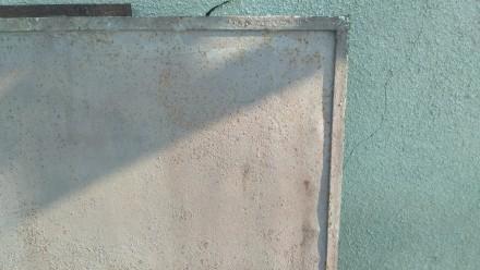 Продам металические секции б/у 158см х 127см - 1 шт-700гр 158см х 240,3см - 8ш. Немиров, Винницкая область. фото 4