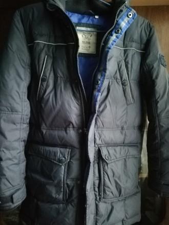 Куртка пухова 146см.. Львов. фото 1