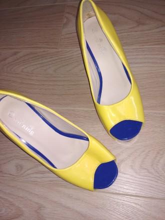Туфли яркие желтые. Николаев. фото 1