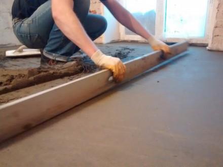 Виконумо стяжку підлоги машинним способом до 200кв вдень. Ціна залежить від товщ. Тернополь, Тернопольская область. фото 4