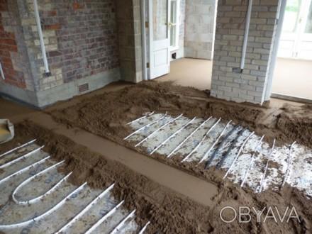 Виконумо стяжку підлоги машинним способом до 200кв вдень. Ціна залежить від товщ. Тернополь, Тернопольская область. фото 1