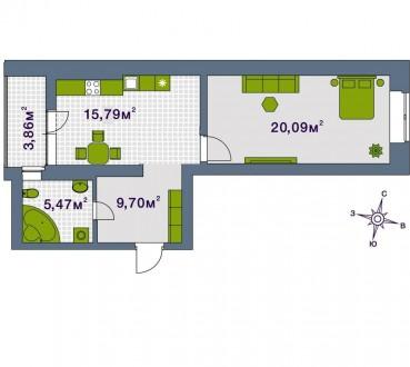 Кращий комплекс Ірпеня, в самомі центрі міста. Квартира з документами, індивідуа. Центральный ЖК, Ирпень, Киевская область. фото 3