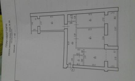 3-кімнатна квартира в зданій новобудові. Ивано-Франковск. фото 1