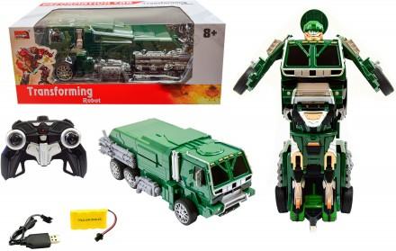 Робот-трансформер Военный грузовик. Херсон. фото 1