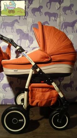 Ярко Оранжевая! Коляска 2в1 Adamex Enduro. Большой выбор!. Чернигов. фото 1