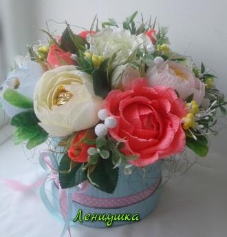 Цветы – это универсальный подарок. Но даже самый красивый и свежий букет цветов . Киев, Киевская область. фото 4