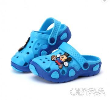 Kids' Crocs  Для мальчиков и девочек. Размер: 33-34.  Стелька от края до края. Днепр, Днепропетровская область. фото 1