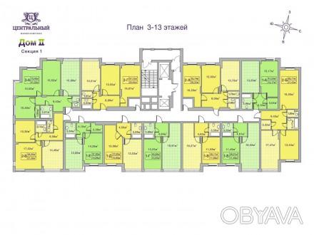 Кращий комплекс Ірпеня, в оточенні зелених насаджень. Квартира з другому будинку. Ирпень, Киевская область. фото 1