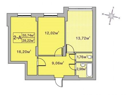 Кращий комплекс Ірпеня, в оточенні зелених насаджень. Квартира з другому будинку. Ирпень, Киевская область. фото 8