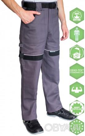 Рабочие брюки  изготовлены из качественного плотного хлопка. Это позволит чувств. Днепр, Днепропетровская область. фото 1