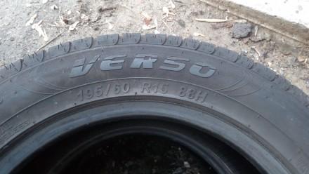 Летняя шина 195/60 R15 Marangoni Verso. Протектор шины составляет 3,5 мм и 3,8 м. Киев, Киевская область. фото 3