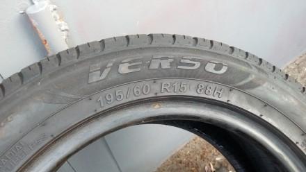 Летняя шина 195/60 R15 Marangoni Verso. Протектор шины составляет 3,5 мм и 3,8 м. Киев, Киевская область. фото 5