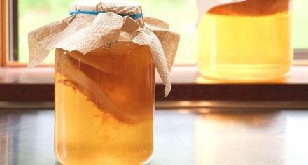 Поднимаем иммунитет напитками.  Комбуча (чайный гриб) – это полезный ферментир. Днепр, Днепропетровская область. фото 2
