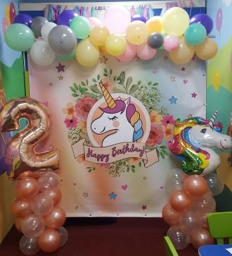 Баннер на Ваш праздник, аренда фотозоны и оформление шарами.. Ирпень. фото 1