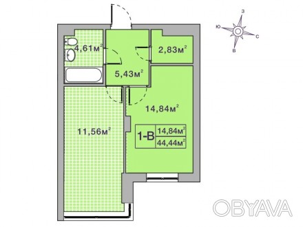 Кращий комплекс Ірпеня, в оточенні зелених насаджень. Квартира в другому будинку. Ирпень, Киевская область. фото 1