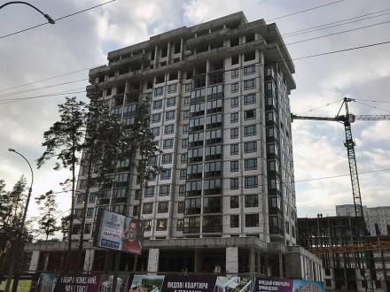Кращий комплекс Ірпеня, в оточенні зелених насаджень. Квартира в другому будинку. Ирпень, Киевская область. фото 3
