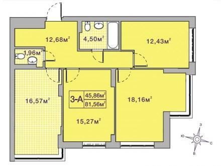 Кращий комплекс Ірпеня, в оточенні зелених насаджень. Квартира в пешому будинку . Ирпень, Киевская область. фото 6