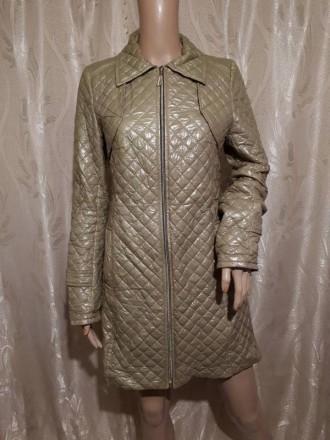 Тренч женский пальто плащ непромокаемый горчичный. Днепр. фото 1