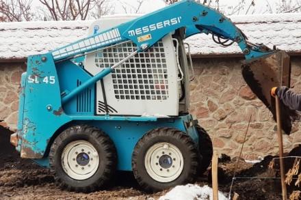 Продам минипогрузчик Messersi SL-45 – маневренный, компактный, выносливый – рабо. Киев, Киевская область. фото 3