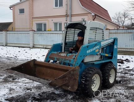 Продам минипогрузчик Messersi SL-45 – маневренный, компактный, выносливый – рабо. Киев, Киевская область. фото 1