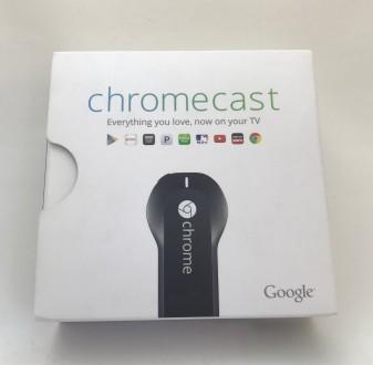 Медиаплеер Google Chromecast. Запорожье. фото 1