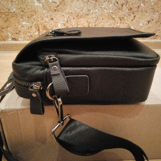 """""""BULLCAPTAIN"""" сумка з високоякісної натуральнї шкіиі.   Довгий ремінь можна ре. Тернополь, Тернопольская область. фото 4"""