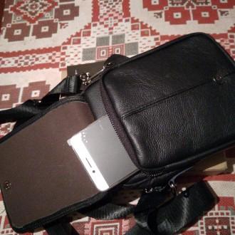 """""""BULLCAPTAIN"""" сумка з високоякісної натуральнї шкіиі.   Довгий ремінь можна ре. Тернополь, Тернопольская область. фото 6"""