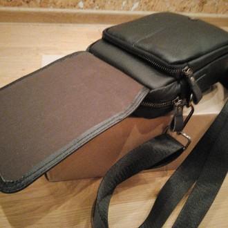 """""""BULLCAPTAIN"""" сумка з високоякісної натуральнї шкіиі.   Довгий ремінь можна ре. Тернополь, Тернопольская область. фото 7"""