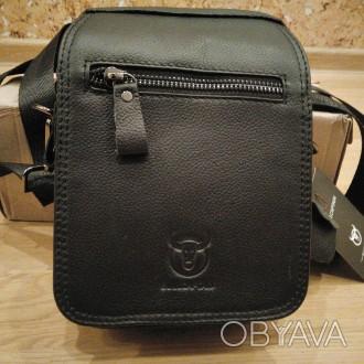 """""""BULLCAPTAIN"""" сумка з високоякісної натуральнї шкіиі.   Довгий ремінь можна ре. Тернополь, Тернопольская область. фото 1"""