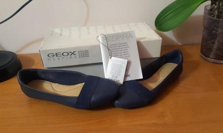 Балетки GEOX 35 -36 Размер, Кожа (Geox Respira Italy). Львов. фото 1