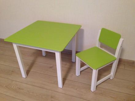 Комплект детской мебели (столик и стульчик ). Киев. фото 1